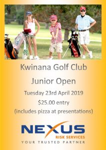 Nexus Kwinana Junior Open