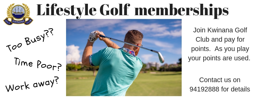 Lifestyle Golf memberships